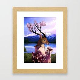 Lady Cerezo Framed Art Print