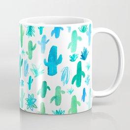 Live Simply Cactus Coffee Mug