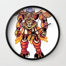 Mecha Owl Wall Clock