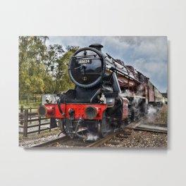 Stanier 48624 colour, landscape Metal Print