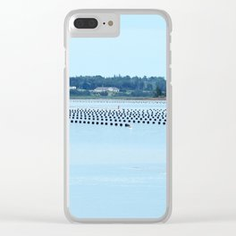Growing Food with Tides Clear iPhone Case