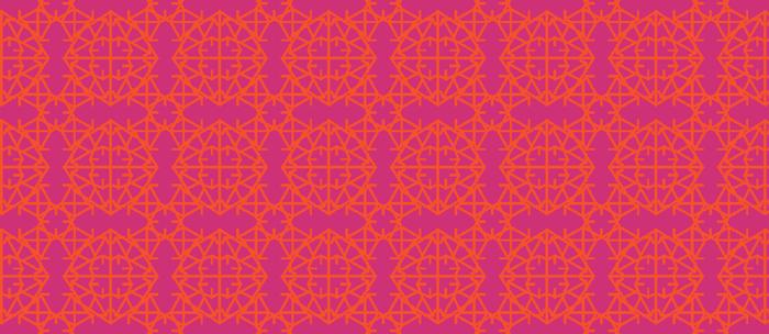 Diamond Bugs Pattern Flame - Pink Yarrow Coffee Mug