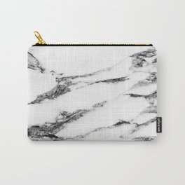 Marble (White) Carry-All Pouch