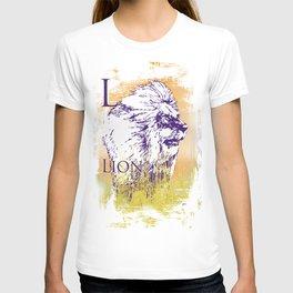 L Lion T-shirt