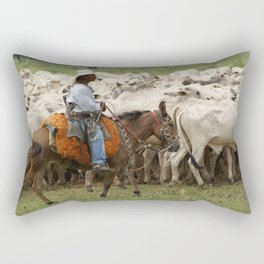 Lides de campear Rectangular Pillow