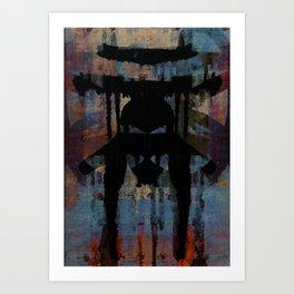 disquiet twenty one (petrococadollar) Art Print