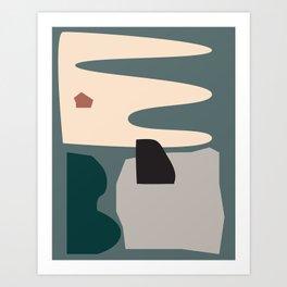 // Shape study #21 Art Print