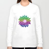 sunflower Long Sleeve T-shirts featuring SunFlower by haroulita
