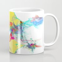 archan nair Mugs featuring Whispering by Archan Nair
