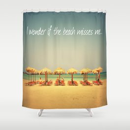 Beach Therapy Shower Curtain