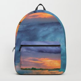 Sunset on the Lake Backpack