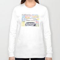 bmw Long Sleeve T-shirts featuring BMW e36 by dareba