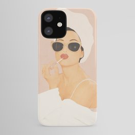 Morning Routine iPhone Case
