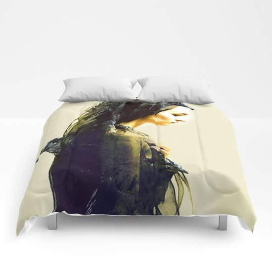The carrier of ravens Comforters