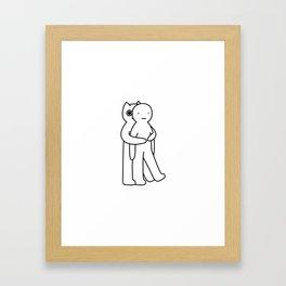 Extra hug Framed Art Print