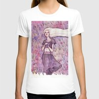 daenerys T-shirts featuring Waiting by Verismaya
