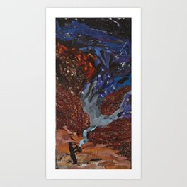 Playing to the Stars Art Print