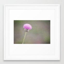 Plum Fairy Framed Art Print