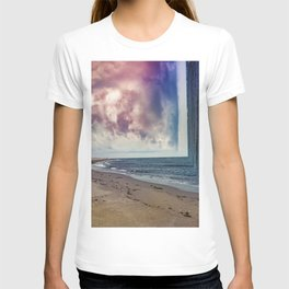folds of the sea T-shirt