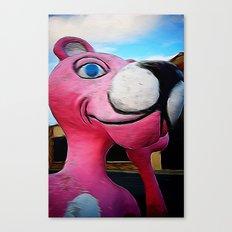 Pink ;) Canvas Print