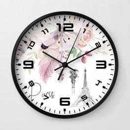 Flowers bouquet #30 Wall Clock