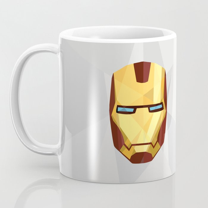 IronMan Fracture Coffee Mug