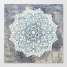Fancy Boho Mandala Canvas Print