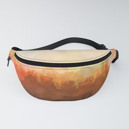 Chicago Illinois Skyline - In the Clouds Fanny Pack
