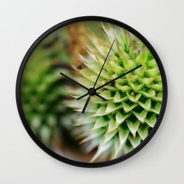 An Open Heart Can Find Beauty in Unexpected Places Wall Clock