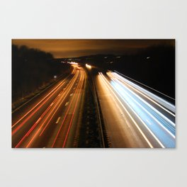 world in motion #4 Canvas Print