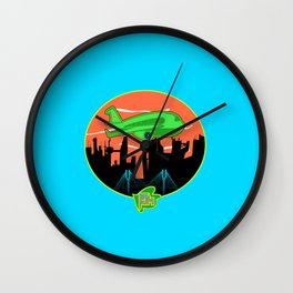 Unisex Version FJM  Planes and Jane's Wall Clock