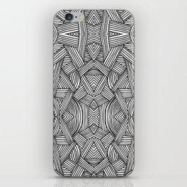 M zigzag iPhone Skin