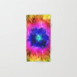 Starburst Tie Dye Watercolor Hand & Bath Towel