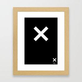 Xx Framed Art Print