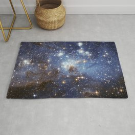 LH 95 stellar nursery in the Large Magellanic Cloud (NASA/ESA Hubble Space Telescope) Rug