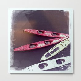 Santa Cruz Kayaks Metal Print