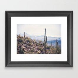 Superstition Wilderness Framed Art Print