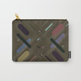 Symmetrical Colorful Lines V (creativity) Carry-All Pouch