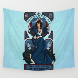 Infinite Nouveau Wall Tapestry