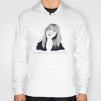 florence Hoodies featuring Florence by ☿ cactei ☿