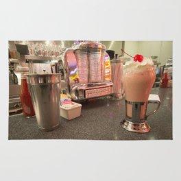 Strawberry Malt Shake  Rug