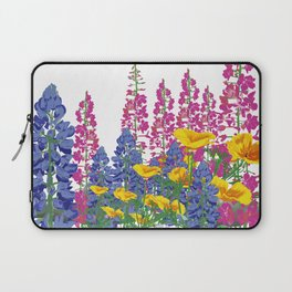 Mountain Wildflowers Laptop Sleeve