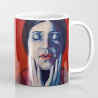 tina Mugs featuring Buonanotte Tina Modotti by Kristina Gufo