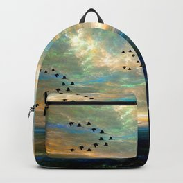 Sunset in the Refuge Backpack
