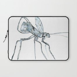 Mosquito, Watercolor Laptop Sleeve
