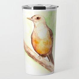 Sabiá Laranjeira Travel Mug