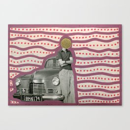 Baby You Can Drive My Car Canvas Print