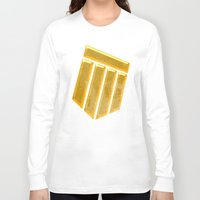 agents of shield Long Sleeve T-shirts featuring Shield by Emma Harckham