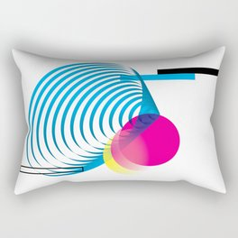zero 1five - white Rectangular Pillow