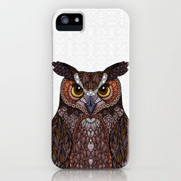 Great Horned Owl 2016 iPhone Case